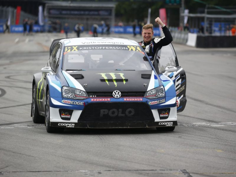 KRISTOFFERSSON IS CROWNED NEW WORLD RX CHAMPION