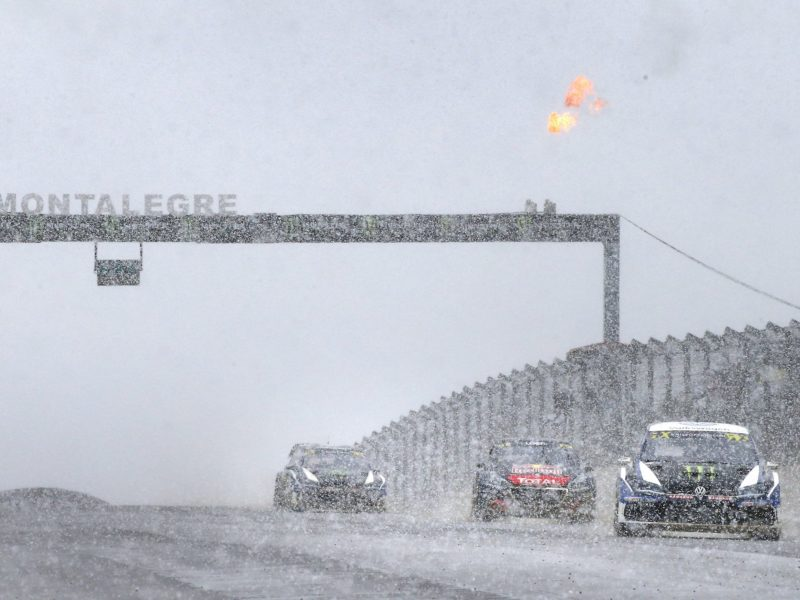 KRISTOFFERSSON POWERS TO SNOWY WORLD RX OF PORTUGAL WIN