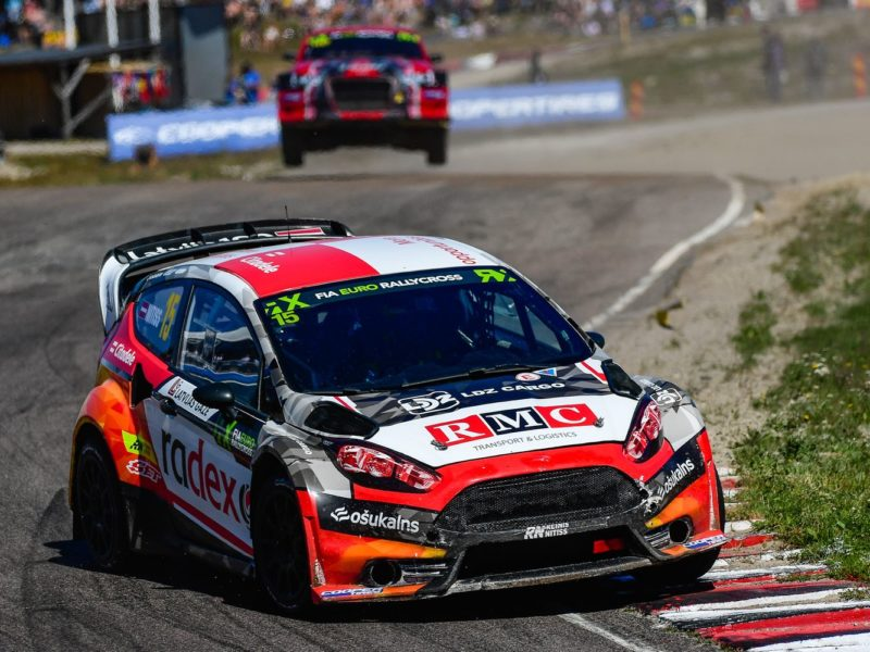 EURO RX: REINIS NITIŠS ON TOP IN SUPERCAR ROUND IN SWEDEN