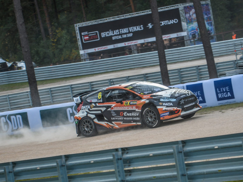 LATVIANS SHOWING GREAT PACE ON DAY ONE OF NESTE WORLD RX OF LATVIA