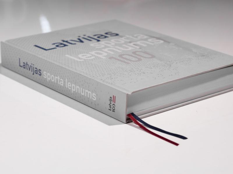 NESTE WORLD RX OF LATVIA IEKĻAUTS GRĀMATĀ LATVIJAS SPORTA LEPNUMS 100