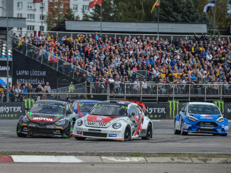 EURO RX ENTRY LISTS REVEALED