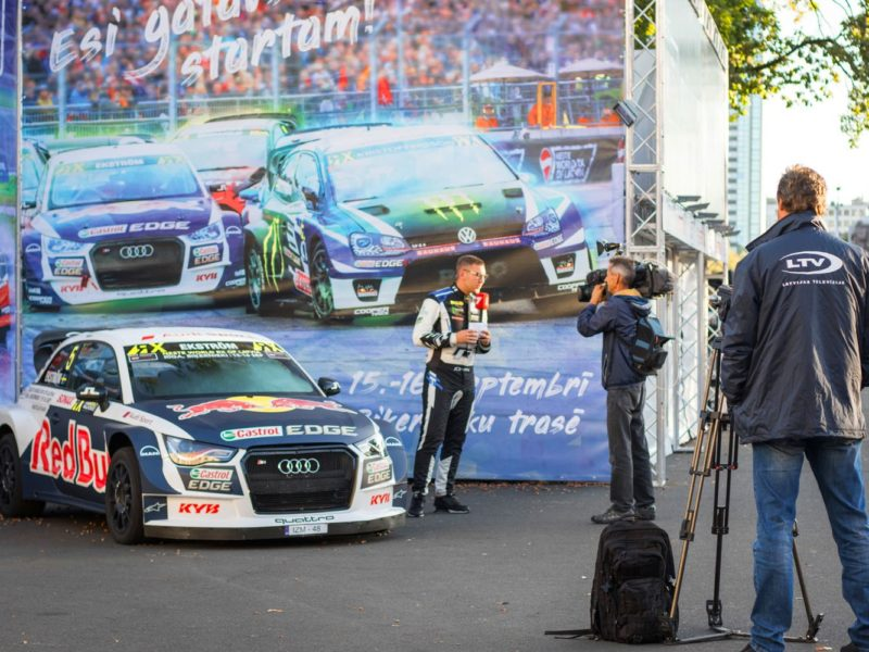 WORLD RALLYCROSS CHAMPIONSHIP LIVE BROADCASTS TO BE SHOWN ON LATVIAN TELEVISION