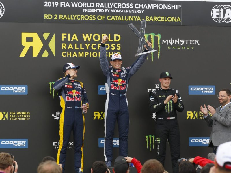 CLEAN SWEEP FOR TIMMY HANSEN IN WORLD RX OF CATALUNYA