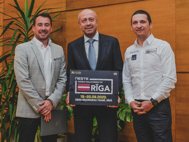 FIA WORLD RALLYCROSS CHAMPIONSHIP STAYS IN RIGA