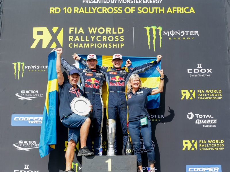 Niclas Gronholm wins in South Africa, Timmy Hansen crowned World Champion