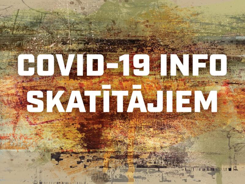 COVID-19 INFO SKATĪTĀJIEM (atjaunots 18.septembrī)