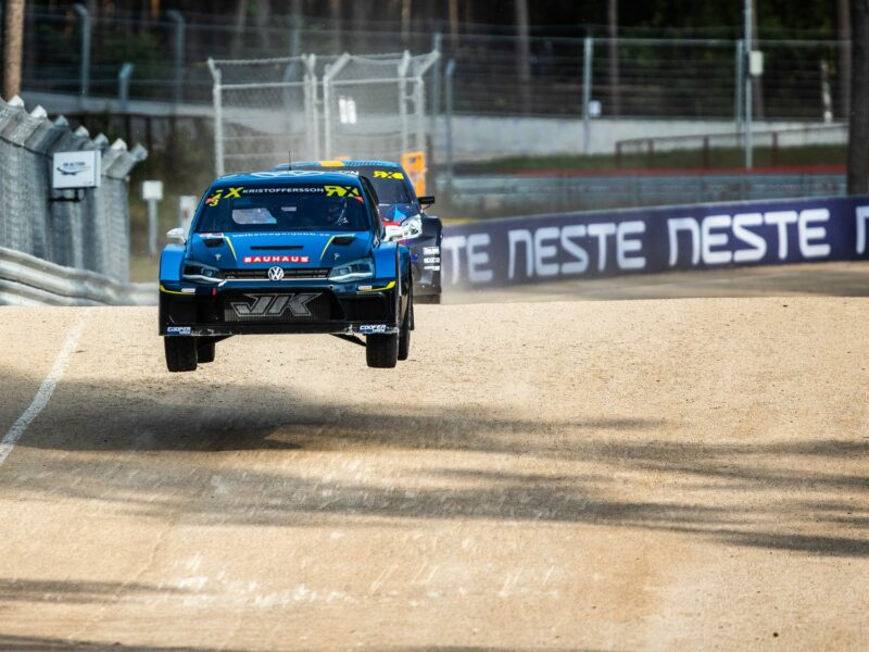 NESTE WORLD RX DAY ONE – NITIŠS REACHES THE SEMI-FINAL, BAUMANIS SHOWS GREAT PACE IN PROJEKT E